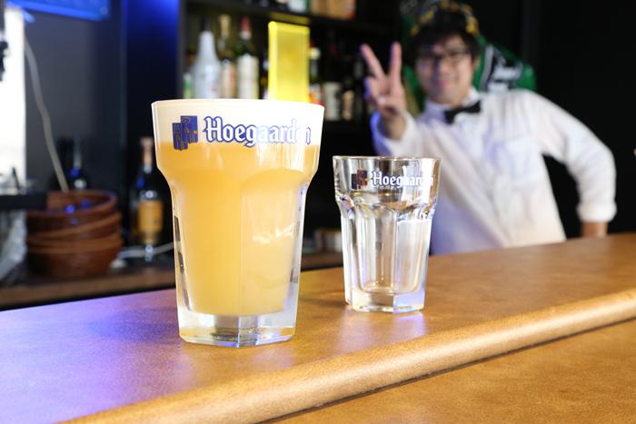 世界各地で愛されているホワイトビールと言えば、このヒューガルデンホワイト。